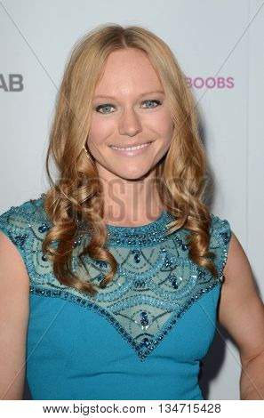 LOS ANGELES - JUN 16:  Marci Miller at the Babes for Boobs Live Bachelor Auction at the El Rey Theater on June 16, 2016 in Los Angeles, CA