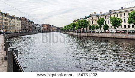 Fontanka River Embankment