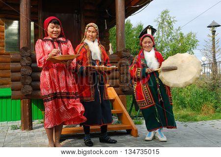Khanty Herder Women