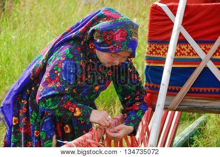 Khanty Herder Woman
