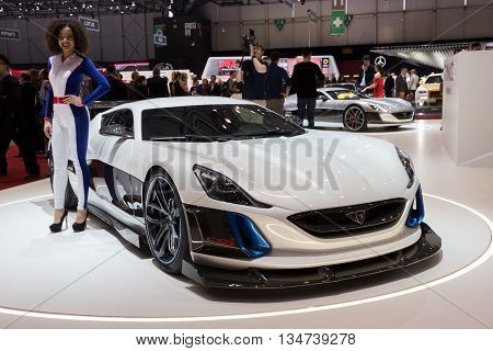 Rimac Concept S Electric Supercar