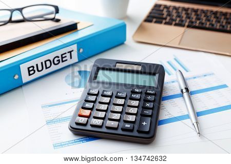 Financial Concept With Calculator