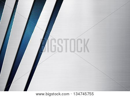 metal pattern with mesh background