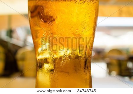 beer in the bar