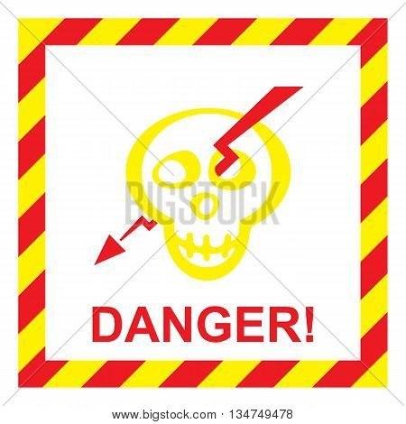 Electric Shock Risk Sign