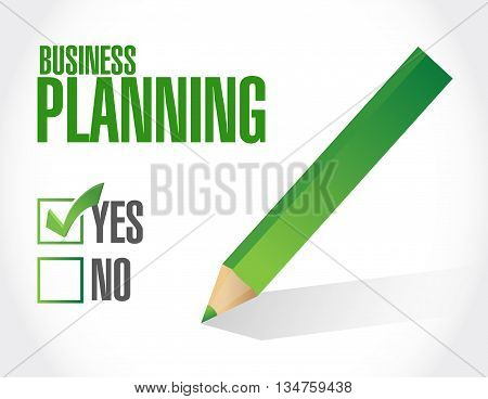 Business Planning Approval Sign Concept