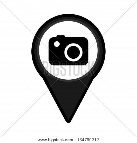 camera photographic isolated icon design, vector illustration eps10 graphic