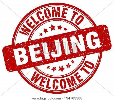 welcome to Beijing stamp. welcome to Beijing.