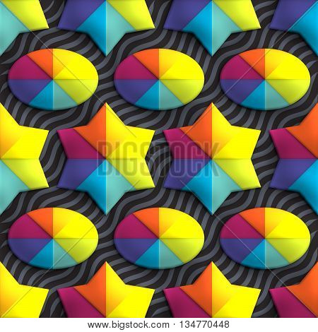 Plastic Background Tile