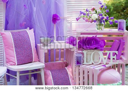 Beautiful Decor For A Summer Party