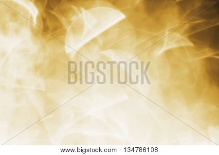Abstract brownish or golden  background of lens flare