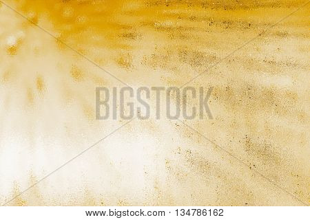 Abstract illustration of a golden textured background