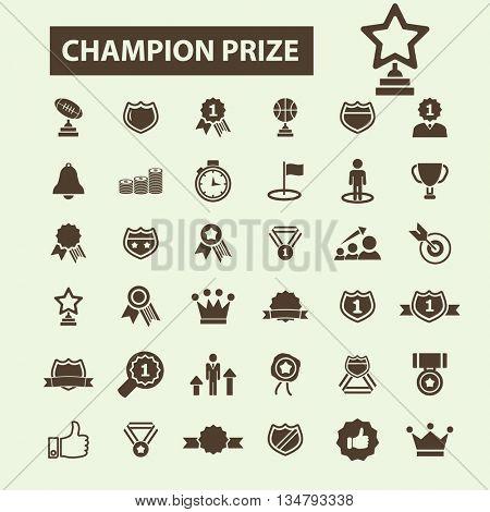 champion prize icons