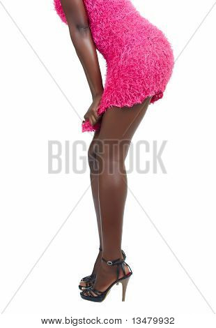 African Model Legs