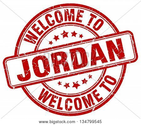 welcome to Jordan stamp. welcome to Jordan.