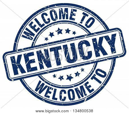 welcome to Kentucky stamp. welcome to Kentucky.