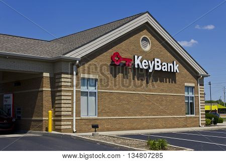 Indianapolis - Circa June 2016: KeyBank Consumer Branch. KeyBank is a Regional Bank Based In Cleveland