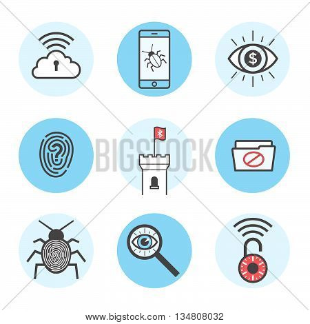 Cyber Security Icons 10