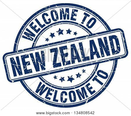 welcome to New Zealand stamp. welcome to New Zealand.