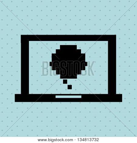 computer technology design, vector illustration eps10 graphic