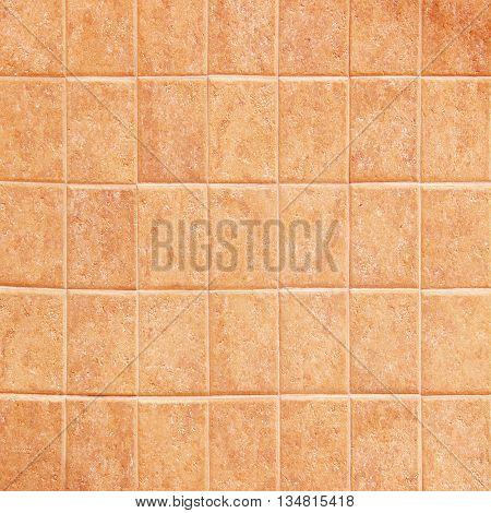 Texture of tiles brown colorBeige and brown floor tiles