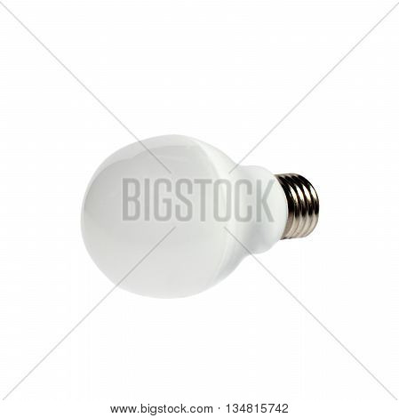 The light bulb isolated on white background