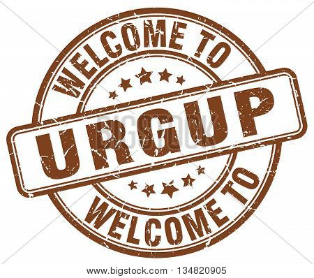 welcome to Urgup stamp. welcome to Urgup.