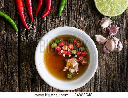 Thai Fish Sauce Three Taste.
