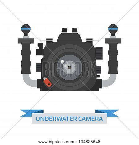 Underwater Camera Vector Icon