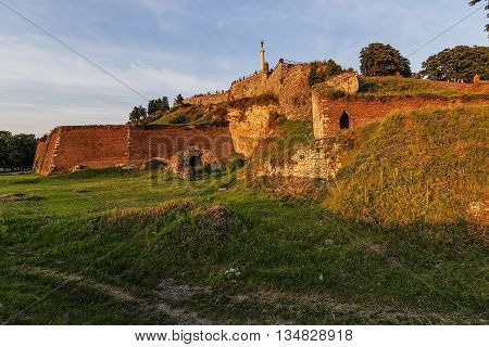 Belgrade Fortress And Victor Monument