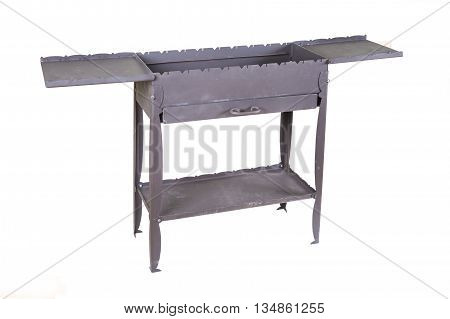 grill roaster or brazier isolated on white