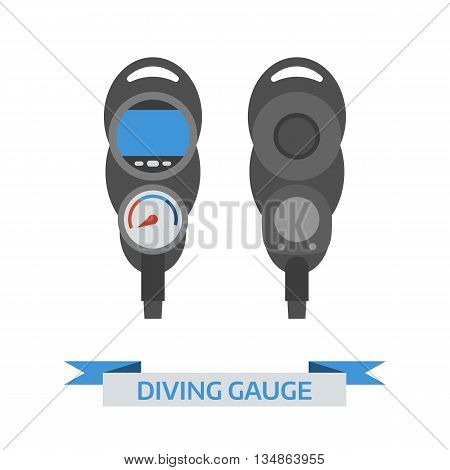 Scuba Diving Gauge Icon