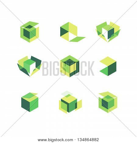 Green Box Icons