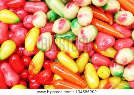 deletable imitation fruits look choup thai candy sweet deletable thai deletable colorful deletable