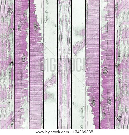 Wooden Wall Texture Background, Painted Puple, Vertical