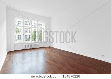 Empty Room - New Apartment Wooden Floor