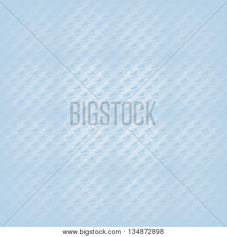Abstract geometric plain background. Modern seamless pattern diagonally light blue gray, in squares centered and blurred.