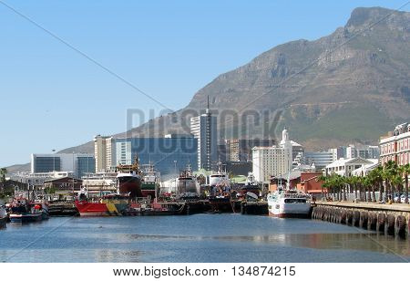 Victoria And Alfred Waterfront, Cape Town South Africa