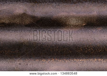 Rusted zinc galvanized iron plate and background.