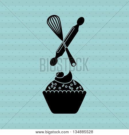 Bakeware silhouette design, vector illustration eps10 graphic