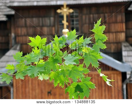 With the adoption of Christianity started Green Holidays also called Trinity which is observed on the 50th day after Easter and coincided with the Green Sunday.