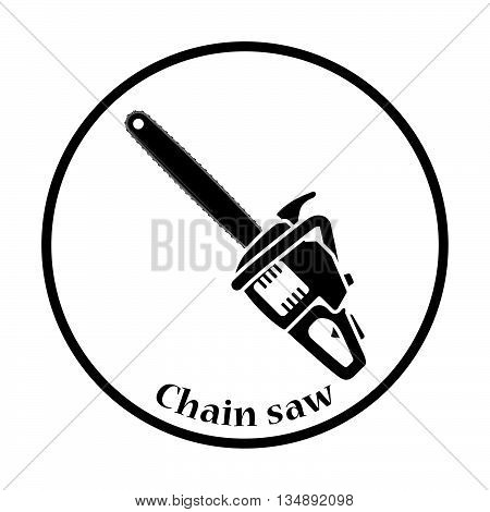 Icon Of Chain Saw