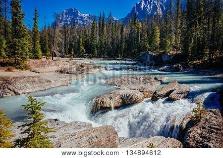 Natural Bridge, Yoho National Park, Alberta, Canada