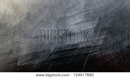 Old stainless steel texture used for background