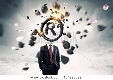 Copyrighting concept