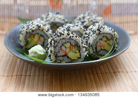 sushi roll sushi set Sushi Japanese food