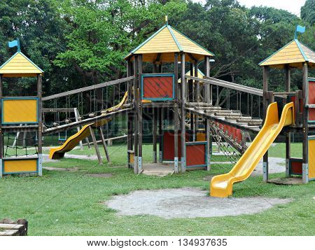 Playhouse For Children in  a themed park