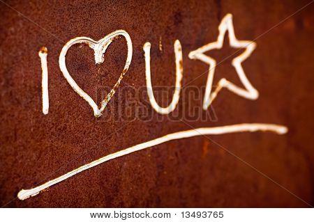 I love U star