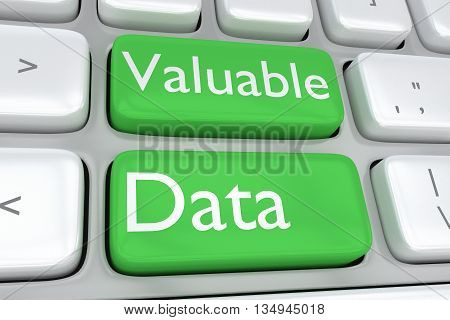 Valuable Data Concept
