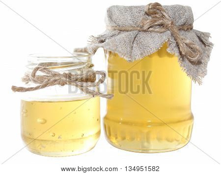 Honey is a sweet food made by bees foraging nectar from flowers. The variety produced by honey bees is the one most commonly referred to as it is the type of honey collected by most beekeepers and consumed by people.